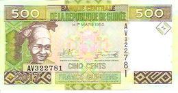 Guinea  New   500 Francs  2017  UNC - Guinée