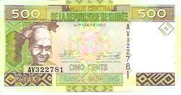 Guinea  New   500 Francs  2017  UNC - Guinea