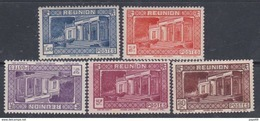 Réunion N° 142 + 144 / 46 + 148  X Partie De Série : Les 5 Valeurs Trace De  Charnière Sinon TB - Réunion (1852-1975)