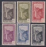 Réunion N° 125 / 30 XX Partie De Série : Les 6 Valeurs Sans Charnière, TB - Réunion (1852-1975)