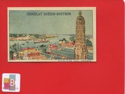 GUERIN BOUTRON Chromo Exposition Universelle 1900 Paris  Monument Champ-de-Mars Tour Du Monde Vietnam BANGKOK - Guérin-Boutron