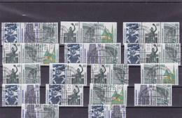 ALLEMAGNE  : Y&T : Lot De 38 Timbres O - [7] République Fédérale