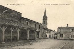 85 - Vendée - Saint-Michel-en-L'Herm - La Place Du Marché - C 3958 - Saint Michel En L'Herm