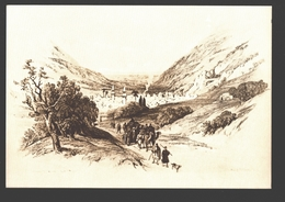 Nablus - By D. Roberts 1839 - Ed. PLO (Palestine Liberation Organization) - Firm Paper 16 X 11 Cm - Palestina