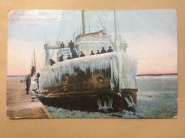CANADA - Fort William - `John Crerar` - Making Last Trip Of The Season - 1910 Stedman Bros. 649 - Ontario