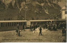 Loeche-les-Bains (Suisse - Swiss - Valais) - Chemin De Fer électrique (train) - VS Valais
