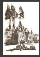 Jaffa - Abu-Nabbut Fountain - By J.D. Woodward - Ed. PLO (Palestine Liberation Organization) - Firm Paper 16 X 11 Cm - Palestina