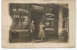 PARIS 6 ème. CARTE PHOTO. Bureau De Placement Nourrice HARDOUIN, 24 Rue Du Cherche-Midi. - District 06