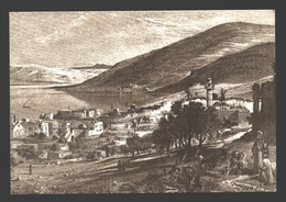 Tiberias - By H. Fenn 1875-1880 - Ed. PLO (Palestine Liberation Organization) - Firm Paper 16 X 11 Cm - Palestina