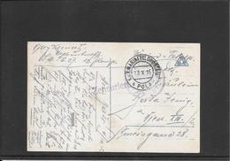 AUSTRIA 1915- Pola ,K.Marine Feldpost Censored Postcard To Wien ( Ref.469) - Lettres & Documents