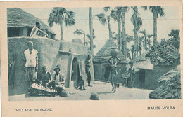 HAUTE VOLTA - VILLAGE INDIGENE  (C P DE CARNET) - Burkina Faso