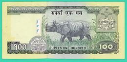 100 Rupees - NEPAL - TTB+ - - Nepal