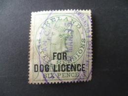 TIMBRE  FISCAL    IRELANDE  FOR  DOG LICENCE    OBLITERE - Altri