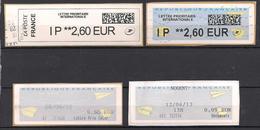 Frankreich  Automatenmarken / ATM  (17ba) - 2010-... Illustrated Franking Labels