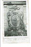 CPA - Carte Postale -Belgique-Bruxelles-Abbaye De La Cambre Armoiries De Louise Dellano Y Velasco-1911-VM207 - Beroemde Personen