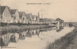 Meurthe Et Moselle : SAINT-NICOLAS-du-PORT : Les Salines : Au Dos Tampon Militaire : 11é Régt. D'art. à Pied 2é Batterie - Other Municipalities