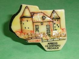 Fèves / Pays / Région : Puzzle , Arbois , Le Château Pecauld    T7 - Regiones