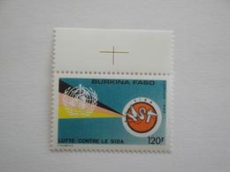 1989 Burkina Faso Yv 801 ** MNH SIDA  OMS Cote  1.50 € Michel 1205 Scott 873 - Burkina Faso (1984-...)