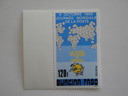 1988 Burkina Faso Yv 788 ** MNH U P U  Journée De La Poste  Cote  1.50 € Michel 1185  World Postal Day - Burkina Faso (1984-...)