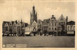 BELGIQUE - FLANDRE OCCIDENTALE - ROESELARE - ROULERS - Marktplaats - Grand'Place. - Roeselare