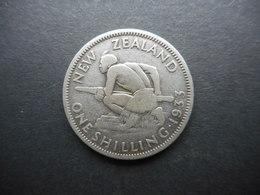 New Zealand 1 Shilling 1933 George V - Nueva Zelanda