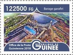 GUINEA 2018 - Garafiri Dam, 1v. Official Issue - Acqua