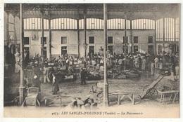 85 - LES SABLES-D'OLONNE - La Poissonnerie (intérieur) - Bergevin 4975 - Sables D'Olonne