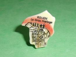 Fèves / Pays / Région : Puzzle , Rouen , Le Gros Horloge    T12 - Regions