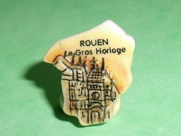 Fèves / Pays / Région : Puzzle , Rouen , Le Gros Horloge    T12 - Regionen