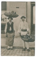 RO 65 - 15268 SELLER Of Horns, ETHNICS, Romania - Old Postcard, Real PHOTO - Unused - Romania