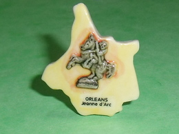 Fèves / Pays / Région : Puzzle , Orleans , Jeanne D'arc  T12 - Regions