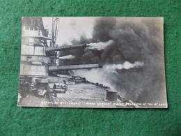 VINTAGE MILITARY: Brazil Battleship Minas Geraes Firing Broadside B&w Herries - Reggimenti