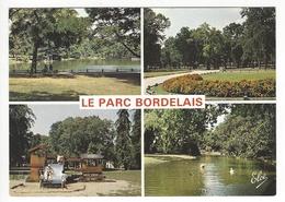 5206 - BORDEAUX CAUDERAN .- Le Parc Bordelais Avec Son Lac, Ses Bois Et Ses Massifs Fleuris - Bordeaux