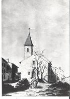 LAXOU. CP  Ancienne église Saint Genès D'après Gravure - France