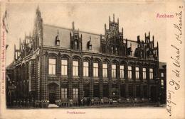 The Netherlands, Arnhem, Postkantoor, Old Postcard Pre. 1905 - Arnhem