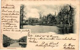 The Netherlands, Arnhem, Lauersgracht, Scenes, Old Postcard Pre. 1905 - Arnhem