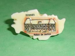 Fèves / Pays / Région : Puzzle , Rennes , Palais De Justice    T12 - Regionen