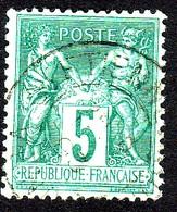 Sage 1876 -1878 N° 75-77-78-80-82-83-85-87-88 - Oblitérés - 1876-1898 Sage (Type II)