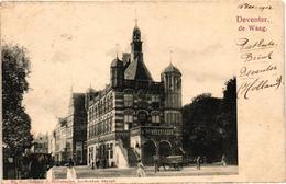 The Netherlands, Deventer, De Waag, Old Postcard 1902 - Deventer