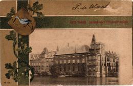 The Netherlands, Den Haag, Rekenkamer, Statengenerral, Old Postcard With Crest Pre. 1905 - Den Haag ('s-Gravenhage)