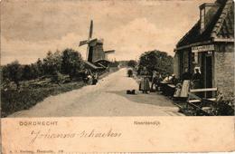 The Netherlands, Dordrecht, Noordendijk, Mill, Old Postcard 1901 - Dordrecht