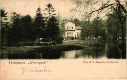 The Netherlands, Dordrecht, Merwepark, Old Postcard 1900 - Dordrecht
