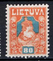 Lituania 1921 Unif.92b */MH VF/F - Lituania