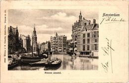 The Netherlands, Amsterdam, Binnen Amstel, Old Postcard Pre. 1905 - Amsterdam