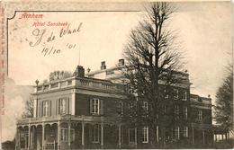 The Netherlands, Arnhem, Hotel Sonsbeek, Old Postcard 1901 - Arnhem