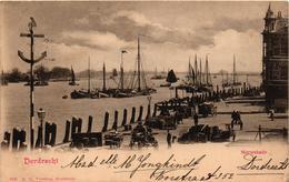 The Netherlands, Dordrecht, Merwekade, Old Postcard 1900 - Dordrecht