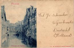 The Netherlands, Dordrecht, Voorstraats Haven, Old Postcard 1900 - Dordrecht