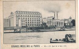 PARIS - GRANDS MOULINS DE PARIS - 59 Bis A 81 QUAI DE LA GARE (13e) - France
