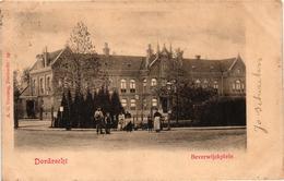 The Netherlands, Dordrecht, Beverwijckplein, Old Postcard 1900 - Dordrecht