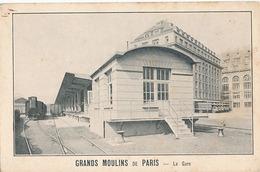 PARIS - GRANDS MOULINS DE PARIS - LA GARE - France